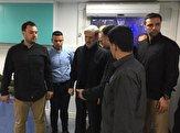 باشگاه خبرنگاران -امیر حاتمی از بیمارستان سیار ساخت وزارت دفاع در کربلای معلی بازدید کرد