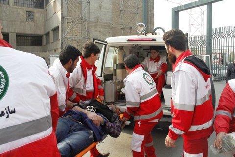 امداد رسانی به ۴۸ حادثه جادهای توسط هلال احمر ایلام