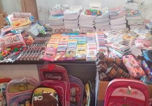 یک هزار بسته نوشت افزار و کیف بین دانش آموزان توزیع شد