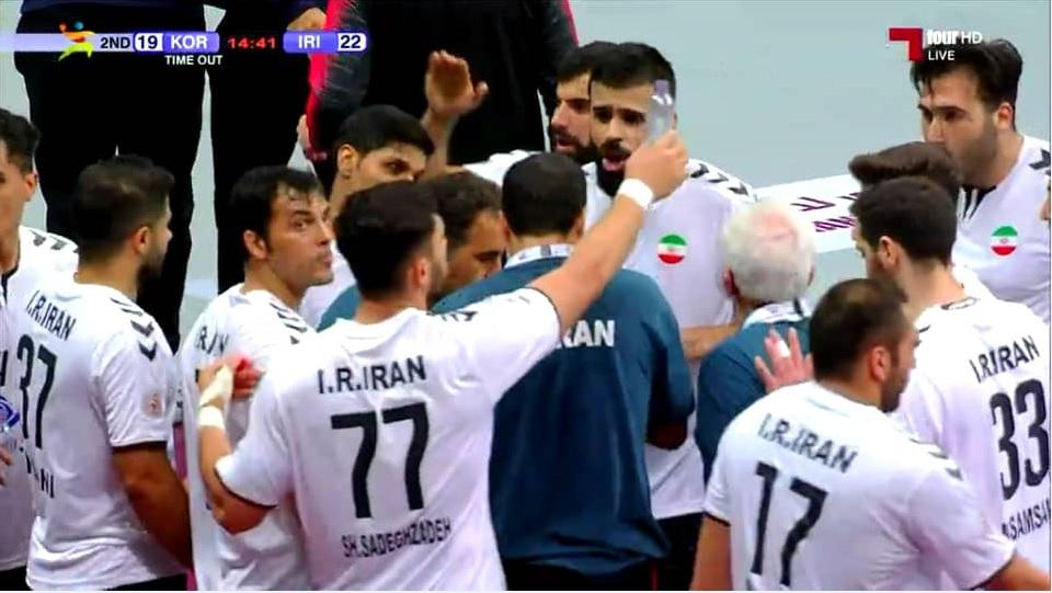 تیم ملی هندبال ایران - کویت / شاگردان حبیبی محکوم به برد