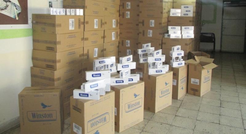 کشف ۲۷۰ هزار نخ سیگار قاچاق در دهلران