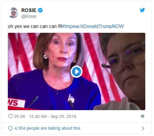 حمایت هالیوودیها از طرح استیضاح ترامپ