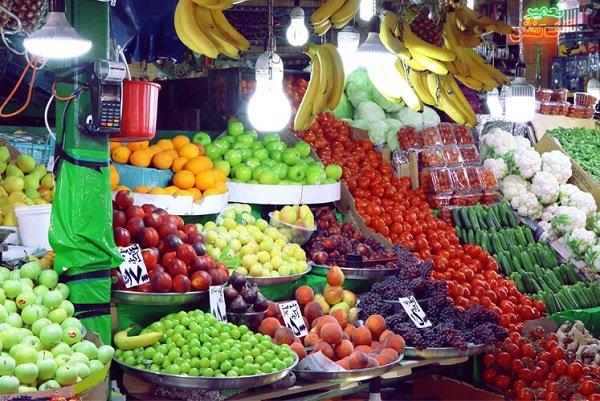 نزول قیمتها در بازار میوه یزد با شروع پاییز