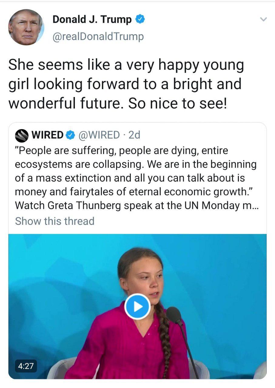 عروسک گردانان نمایش دختر ۱۶ ساله سوئدی در سازمان ملل به دنبال چه هستند؟/ سکوت در برابر کشتار کودکان یمنی و اشک تمساح برای محیط زیست +تصاویر