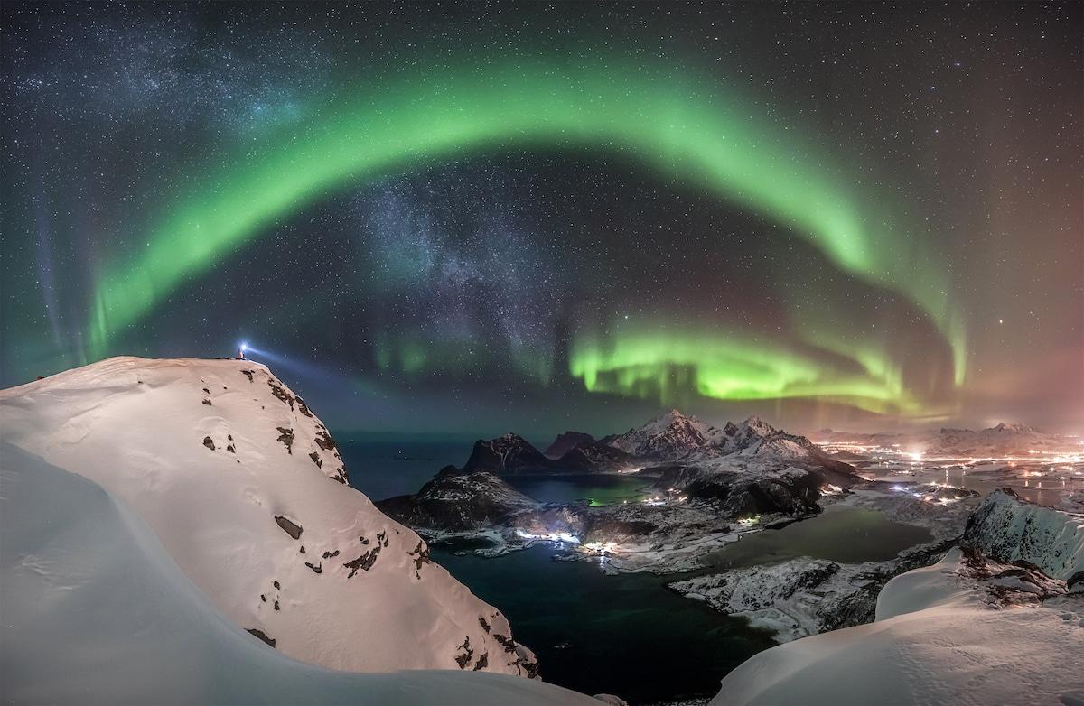 آسمان شب را از نگاه برترین عکاسان ۲۰۱۹ ببینید + تصاویر