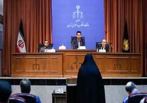 توصیه جالب قاضی مسعودی مقام به شبنم نعمت زاده + فیلم
