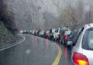 تردد خودروها هم اکنون روان است