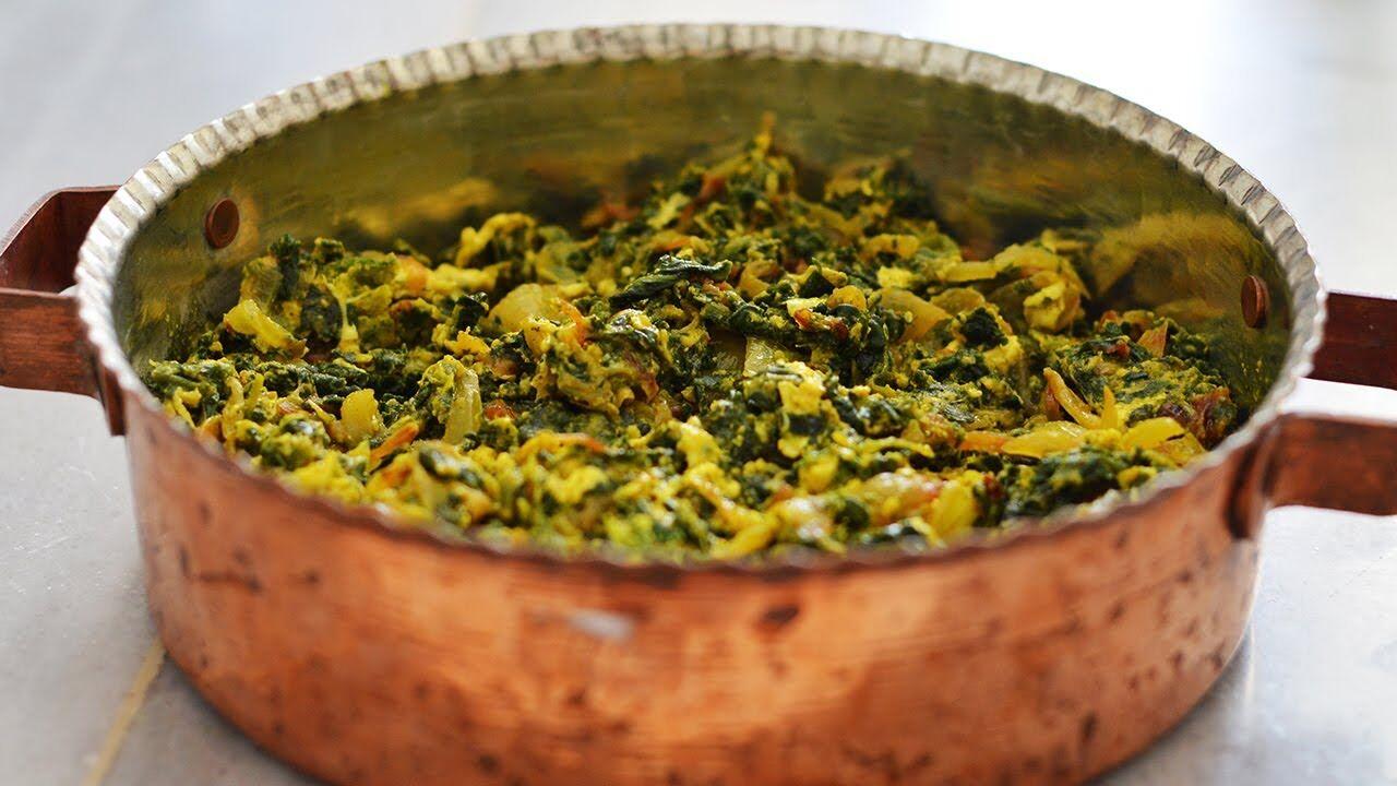 نرگسی؛ یک غذای رژیمی و گیاهی + طرز تهیه
