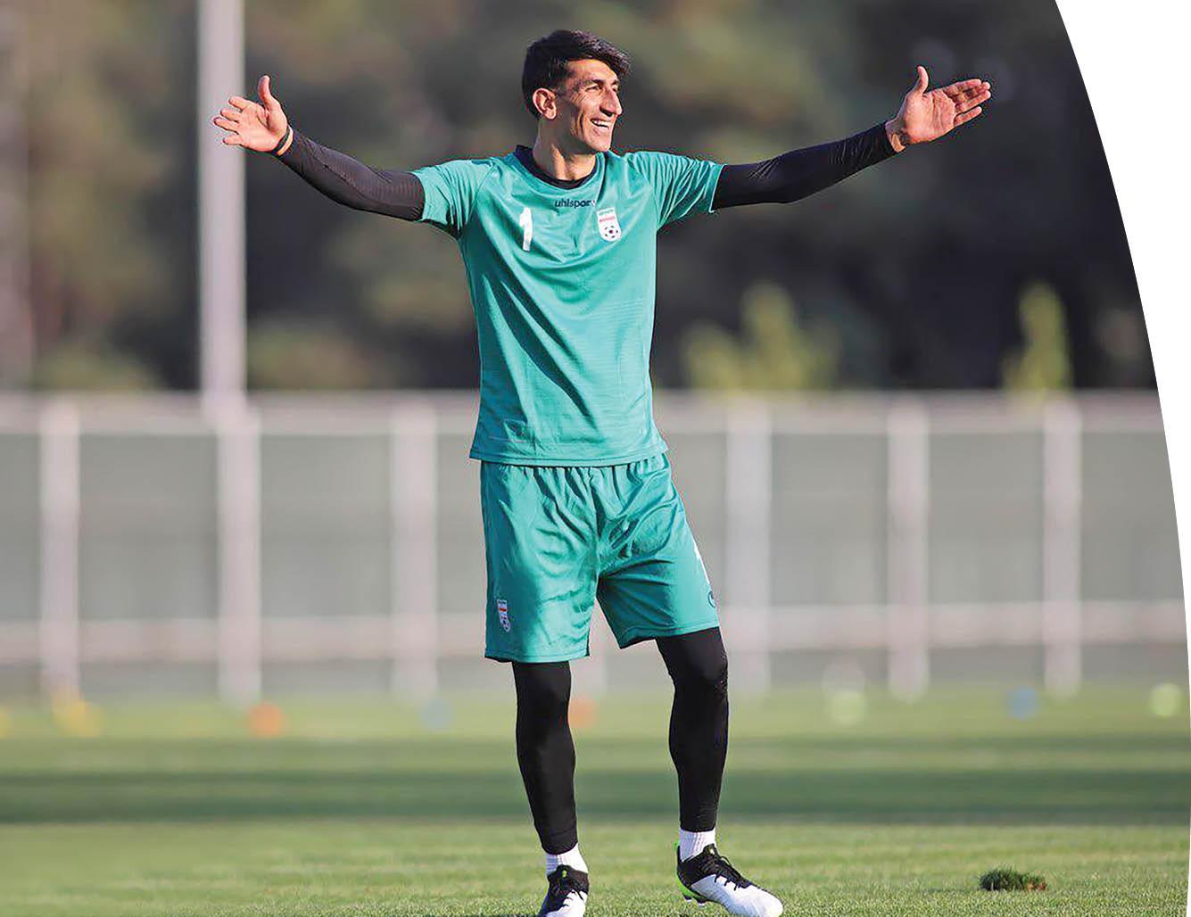 باشگاه خبرنگاران -بیرانوند: پیروزی تیم مهمتر از کلینشیت است