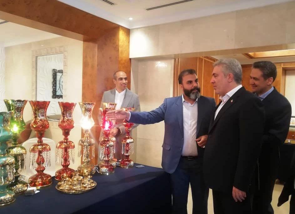 برپایی نمایشگاه صنایع دستی فارس در مسقط