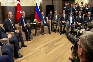 پوتین: اوضاع در منطقه دشوار است