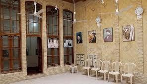 بازدید حاج منصور ارضی از بیت امام خمینی(ره) در نجف + تصویر