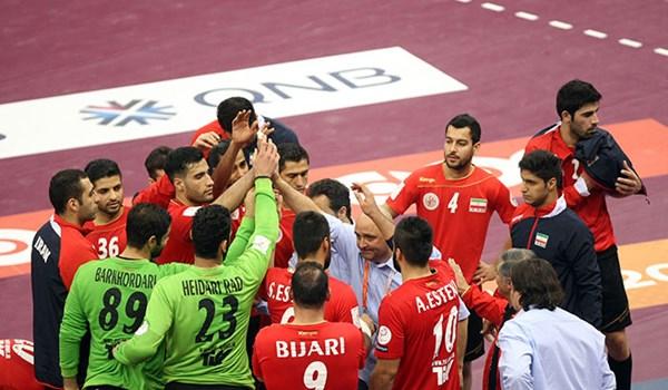 تیم ملی هندبال ایران _ کویت/ گزارش لحظه به لحظه نیمه نخست