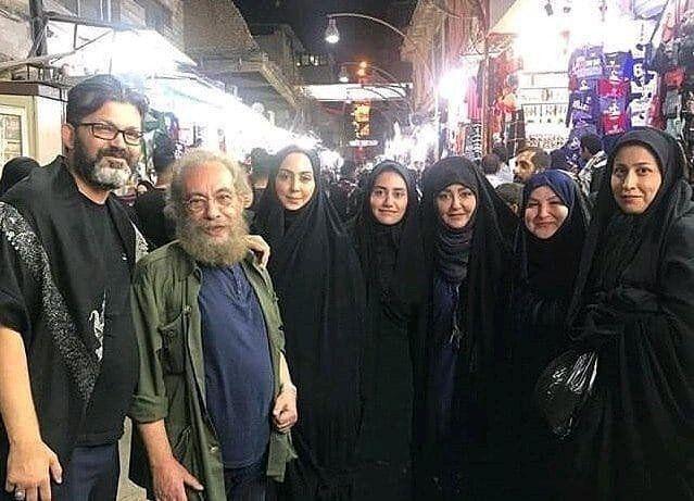 حضور بازیگران در مراسم اربعین حسینی