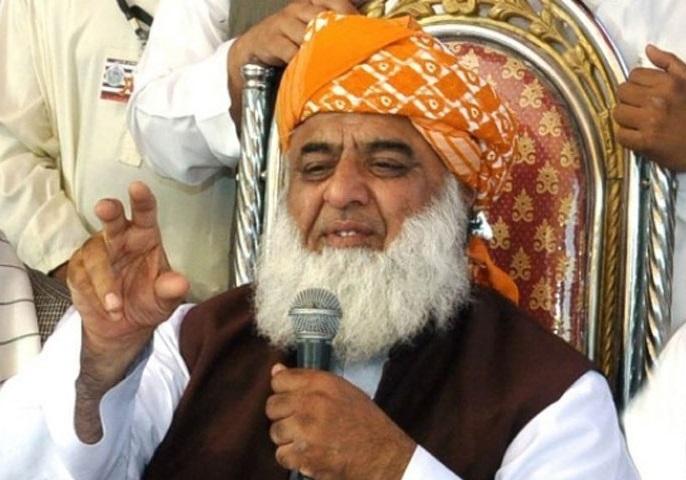 تصمیم دولت پاکستان برای بازداشت رئیس حزب جمعیت علمای اسلام