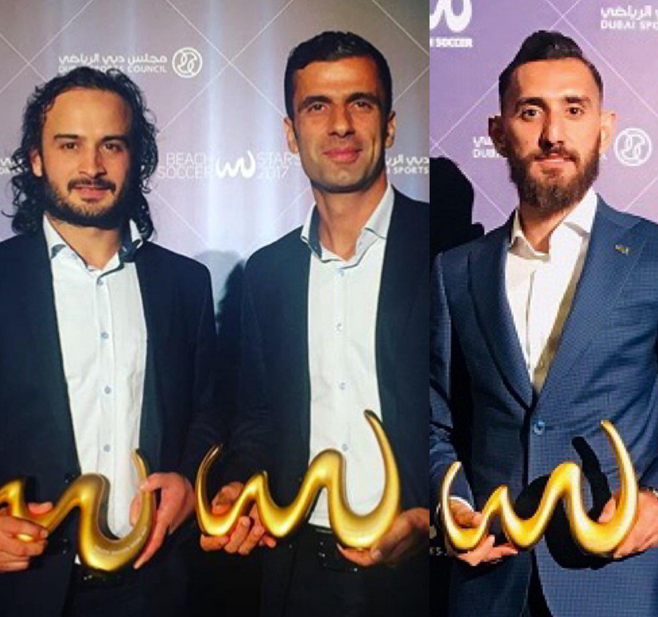 سه ساحلی باز ایران نامزد کسب عنوان برترین بازیکن جهان شدند