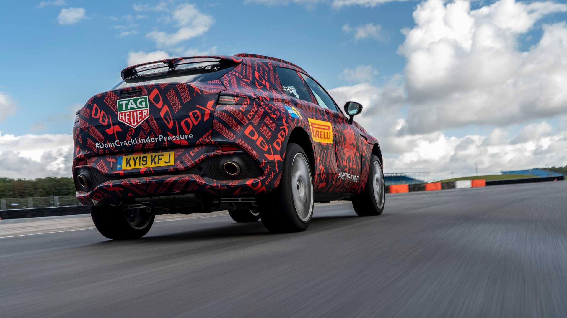 خودروی Aston Martin DBX، اتومبیل ۵۵۰ اسببخار استون مارتین +تصاویر