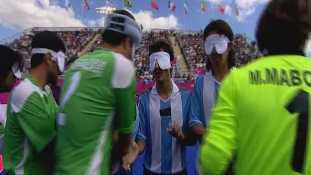 اردوی آماده سازی تیم ملی فوتبال نابینایان برای مسابقات آسیایی + فیلم