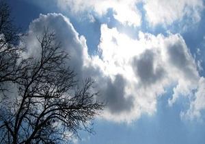 شدت سرعت وزش باد در همدان