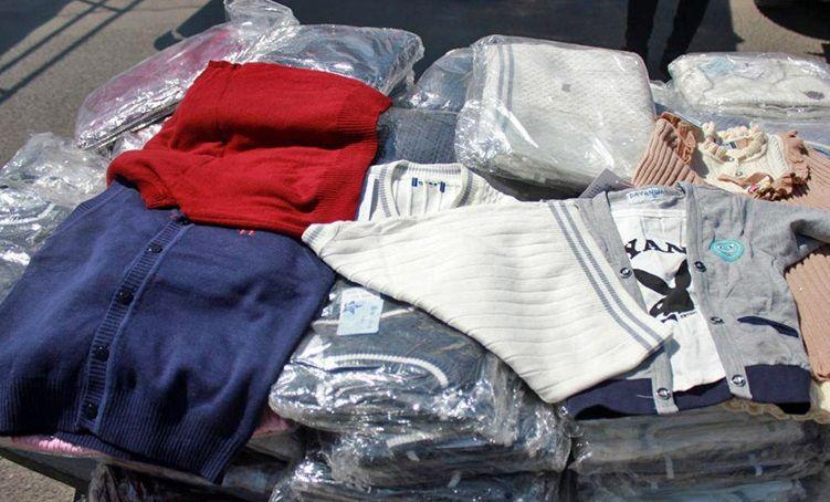 کشف ۴ هزار و ۵۰۰ کیلوگرم لباس قاچاق در همدان