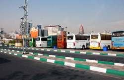 ۱۵۰ دستگاه اتوبوس آماده خدمت رسانی به زائران اربعین