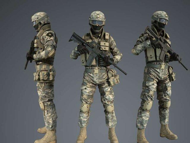 طراحی لباس هوشمند سربازان با استفاده از ۱۲ سنسور/ پوتینهای ردیاب رادیو اکتیو و مین