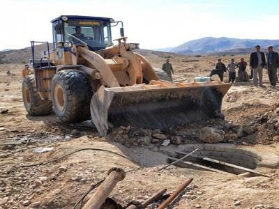 بستن ۲۹۰ حلقه چاههای غیر مجاز در استان همدان