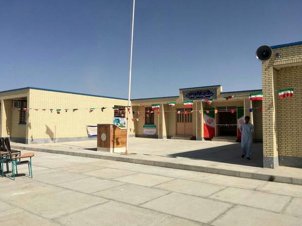 مدرسه ۱۲ کلاسه خیری در زاهدان افتتاح شد