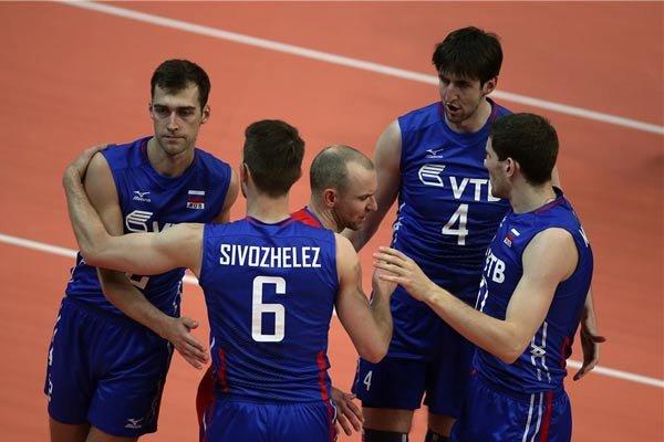 تیم ملی والیبال ایران - روسیه / تزارها نخستین رقیب بلند قامتان در جام جهانی