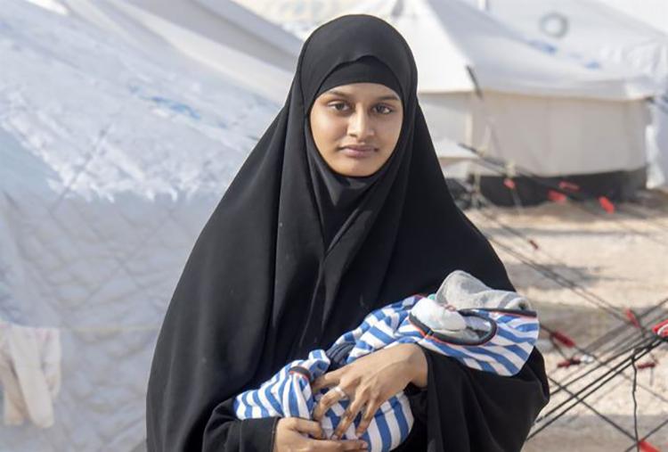 انگلیس، عروس داعشی را به لندن راه نمیدهد
