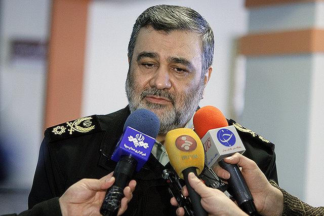 بیش از ۹۰ درصد تجهیزات پلیس ایران بومی است/ صدور گذرنامه موقت برای اربعین