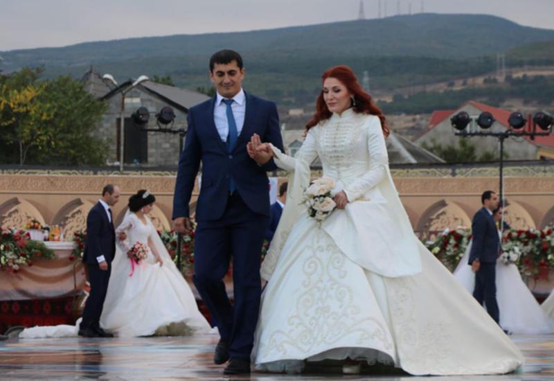 عروسی که در کتاب رکوردها ثبت شد