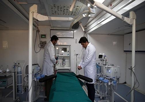 بیمارستان صحرایی آماده ارائه خدمات پزشکی به زائران اربعین/مخابرات خوزستان از ارائه خدمات دریغ نمیکند