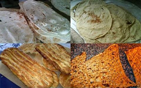 قیمت انواع نان در شمال تهران اعلام شد