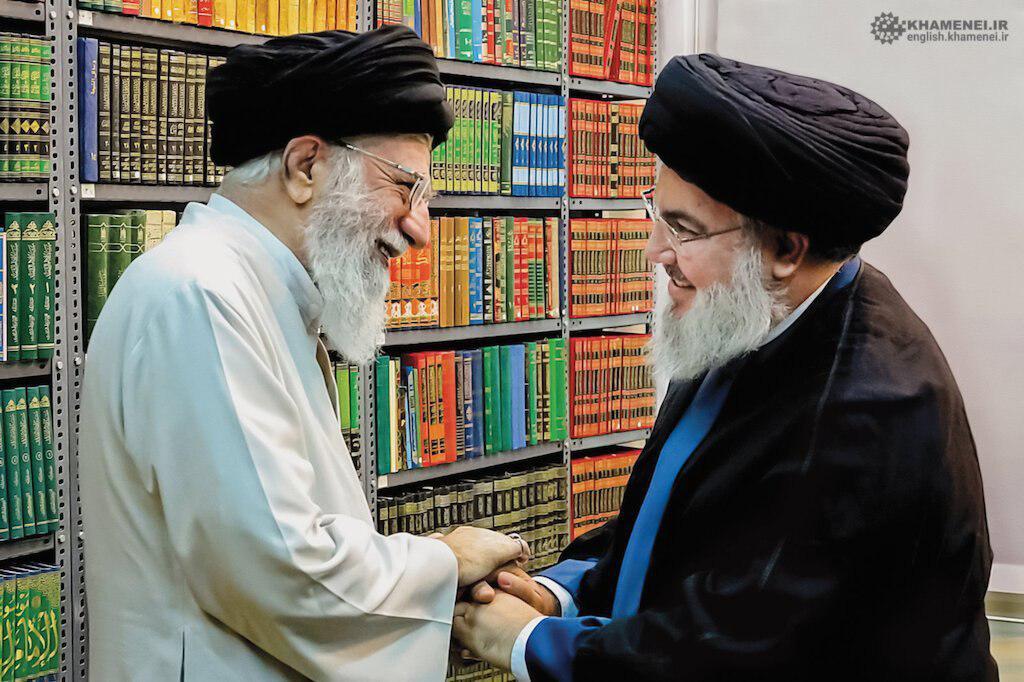 تصویر دیده نشده از دیدار اخیر رهبر انقلاب و سید حسن نصرالله