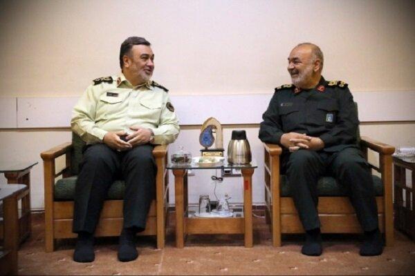 سرلشکر سلامی فرا رسیدن هفته نیروی انتظامی را تبریک گفت