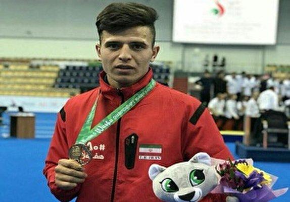 باشگاه خبرنگاران - یوسف صبری مدال طلای رقابتهای قهرمانی ووشو جهان را کسب کرد