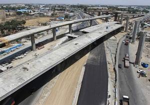 پیشرفت ۷۰ درصدی ساخت تقاطع غیرهمسطح پل خواجو