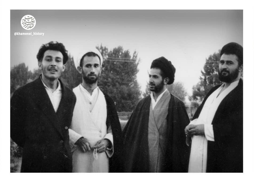 روایت رهبر معظم انقلاب از رحلت مرموز آیتالله مصطفی خمینی + تصاویر