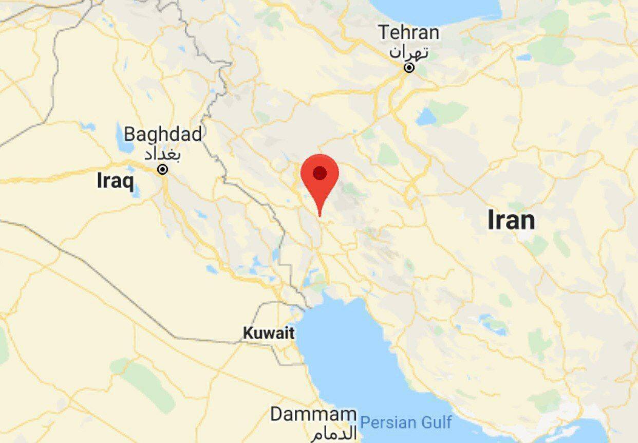 مختصات سقوط پهپاد در خوزستان