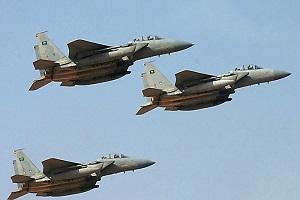 ائتلاف سعودی در ۲۴ ساعت ۵۴ بار یمن را بمباران کرد