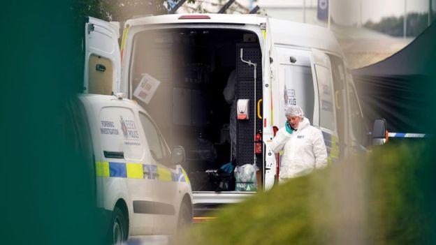 کشف ۳۹ جسد داخل کامیونی در نزدیکی لندن