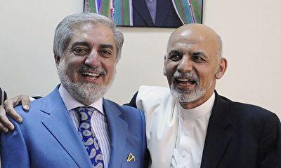 لحظهای که سران افغانستان اختلافاتشان را کنار گذاشتندبگو بخند خارج از عرف سران افغانستان + فیلم