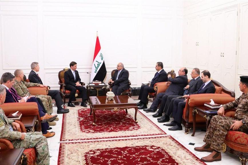 وزیر دفاع آمریکا: اخبار مربوط به بقای نیروهای آمریکایی در عراق صحت ندارد