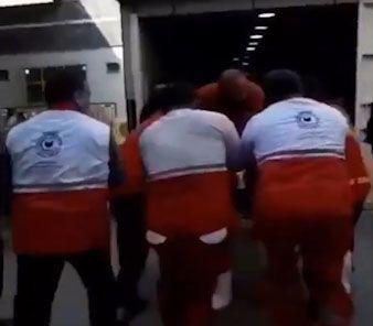 عملیات واقعی و عجیب احیای قلبی یک زائر در کربلا توسط امدادگر ایرانی + فیلم