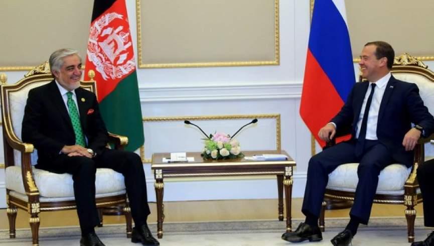 دیدار و گفتگوی «عبدالله» و «مدودوف» درباره صلح و همکاری های تجاری