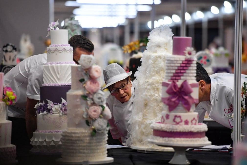 نمایشگاه بین المللی کیکهای تزئینی در انگلیس+تصاویر