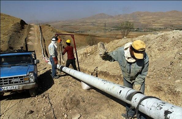 گاز رسانی به روستاهای دوردست کردستان/ بهره مندی ۸۹ درصد جمعیت روستایی از نعمت گاز طبیعی