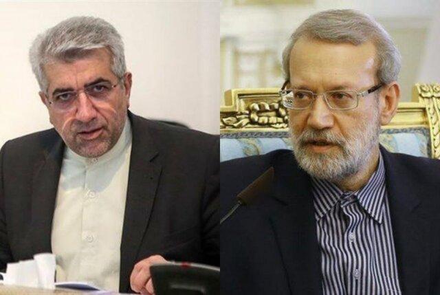 سفر رئیس مجلس شورای اسلامی به همراه وزیر نیرو به آذربایجانغربی