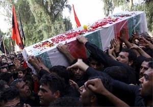 فردا تشییع پیکر جانباز شهید محمد نیرومند مرادی در حاجی آباد